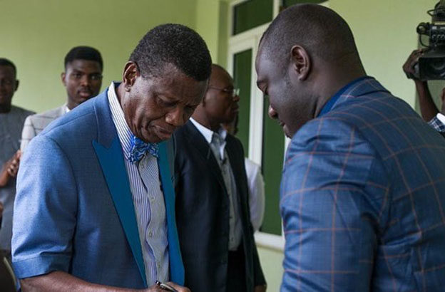 Pastor E A  Adeboye expected to arrive in Uganda this week
