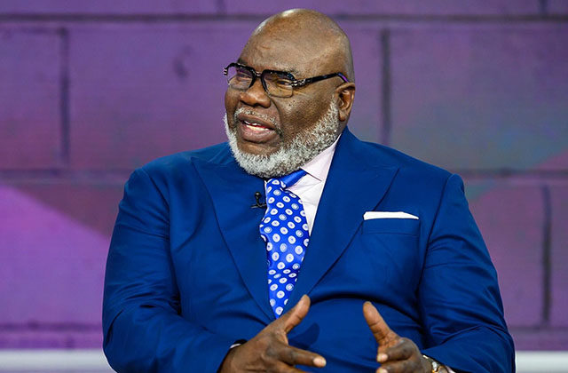 Why T D  Jakes almost quit the Ministry