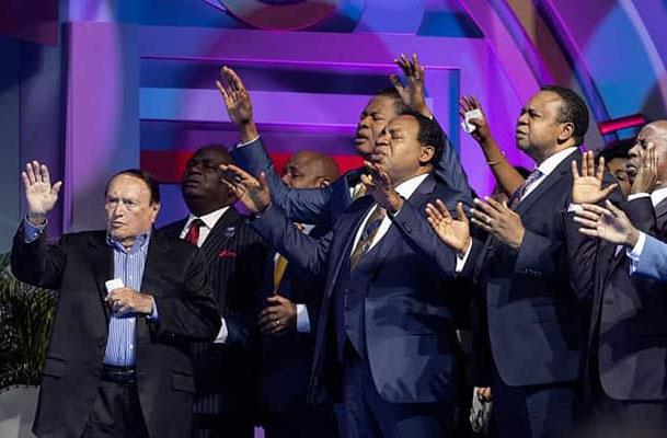 Pastors Chris, Benny Hinn speak at World Evangelism Conference