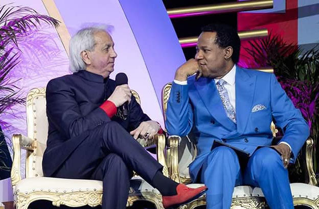 Pastors Chris, Benny Hinn speak at World Evangelism Conference